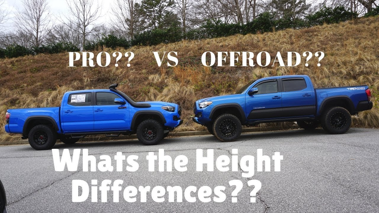 Which ONE Would You Pick?? STOCK TRD PRO or LIFTED TRD Offroad?