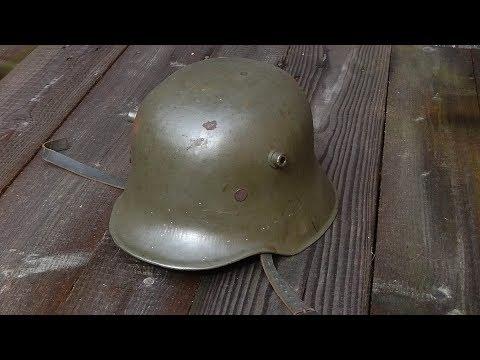 Stahlhelm M 18 - Weltkrieg - Helmet M18 - World War