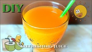 Fruit Juice! Refreshing and Hydrating Summer drink!! (DIY)