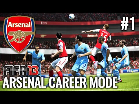 THE BEGINNING REMASTERED! | FIFA 13 ARSENAL CAREER MODE #1