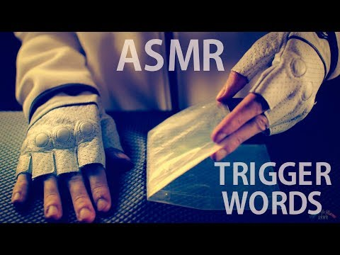[ASMR] Sticky Tape / Peeling - ENGLISH & FRENCH Whispering Trigger Words