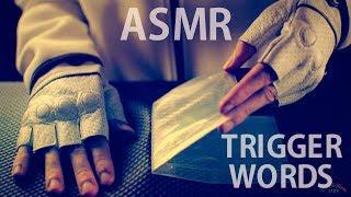 [ASMR] Sticky Tape / Peeling - ENGLISH & FRENCH Whispering Trigger Words
