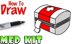 How to Draw the Med Kit | Fortnite