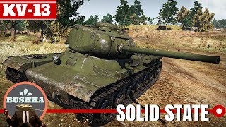 world of tanks blitz kv 13 from russia with no gun depression