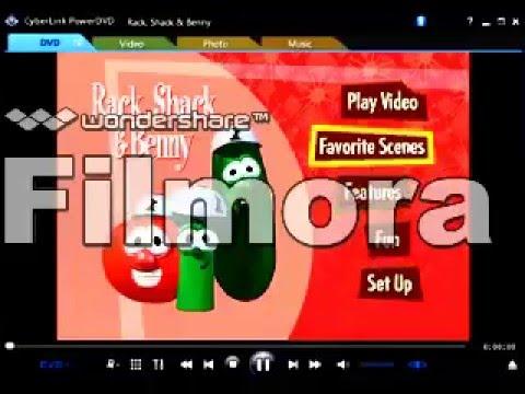 Opening to VeggieTales: Rack, Shack and Benny DVD (2003 ...
