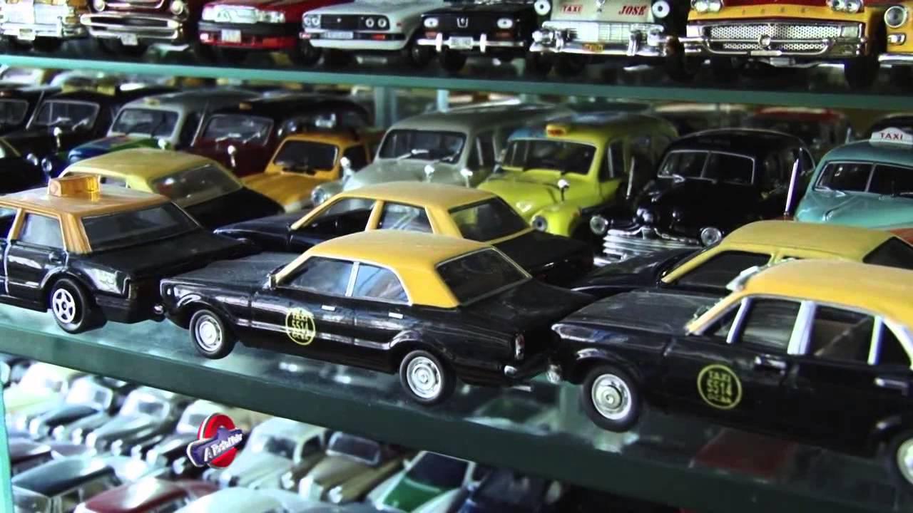 La Mas Grande Coleccion De Autos En Escala Youtube