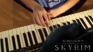 Саундтрек Скайрима на пианино (обучение)