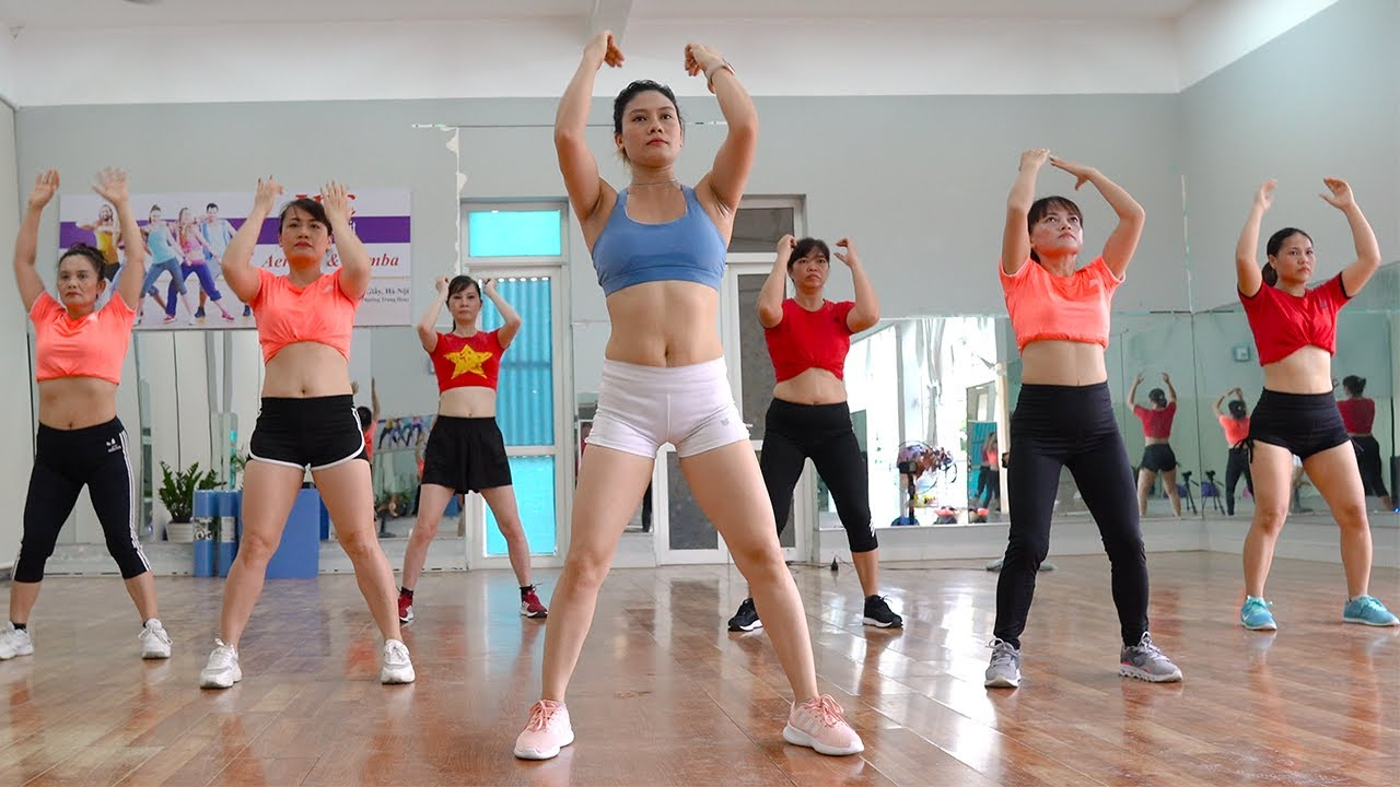 ???? HOT ???? Reduction Of Belly Fat Quickly | 27 Mins Aerobic Dance Workout | Zumba Class