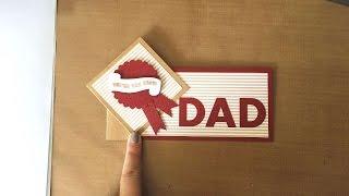 Wie Erstellen Sie Einen Coolen Twist N Turn Fathers Day Card - DIY-Handwerk Tutorial - Guidecentral