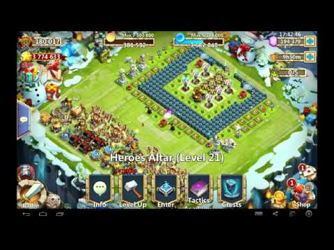 Castle Clash Dominator Might! And Rants