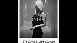 Lydia Paek - Eyes, Nose, Lips Cover [Lyrics/Eng]
