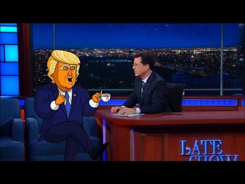 Cartoon Trump Admits It's All An Act