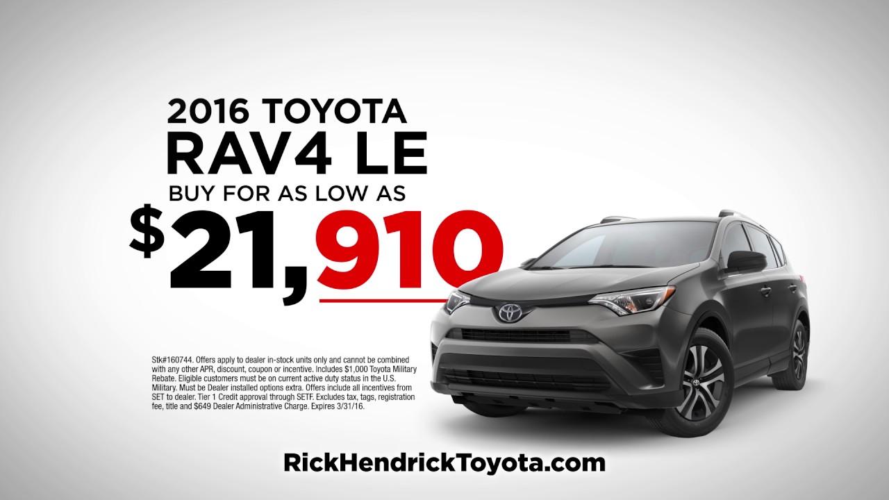 Rick Hendrick Toyota Of Fayetteville Challenge