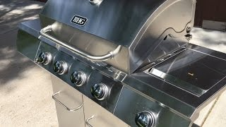 Better Homes and Gardens Stainless Steel 4-Burner Gas Grill with Side Burner review
