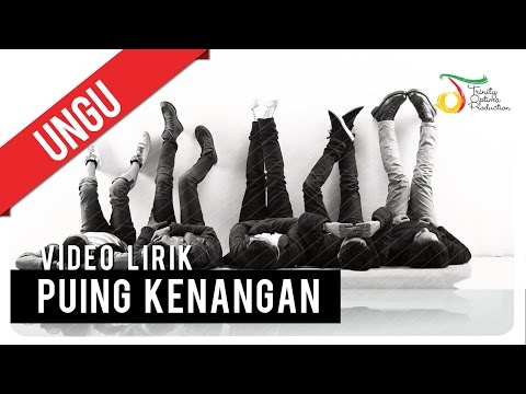 UNGU - Puing Kenangan | Video Lirik