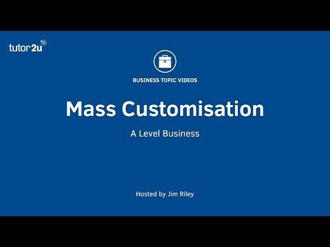 Mass Customization (Operations Management)
