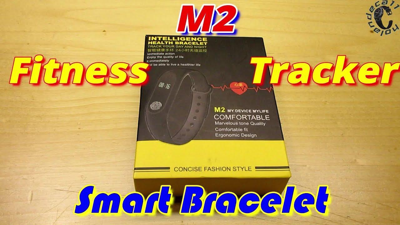 M2 Smart Activity Tracker Bracelet, Waterproof IP67, Phone Connection