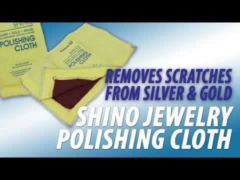 Shino Jewelry Polishing Cloth & Scratch Remover