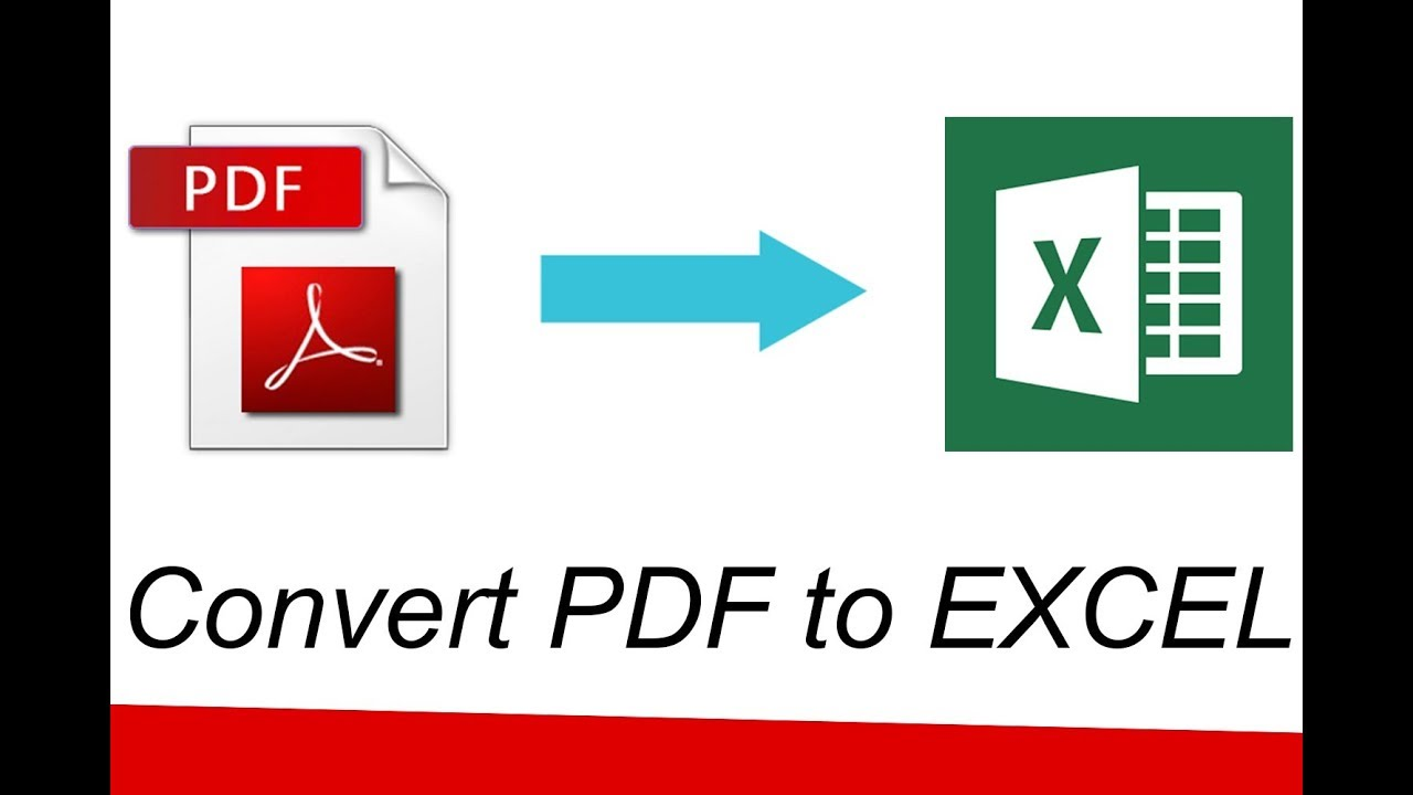 تحويل ملف اكسل ل pdf