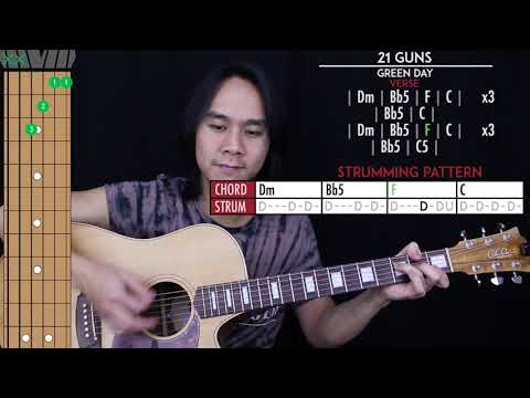 21 Guns Guitar Cover - Green Day🎸 |Tabs + Chords|