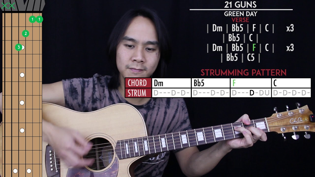 Green Day Gitarre Akkorde Favourites to Strum and Sing