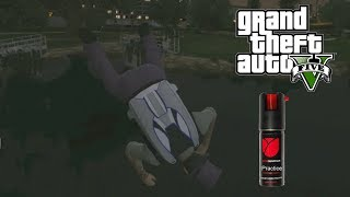 GTA 5 - Got Pepper Sprayed