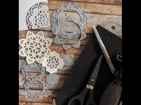 Produktreihe Orientpalast - die Thinlits Orient Medaillons