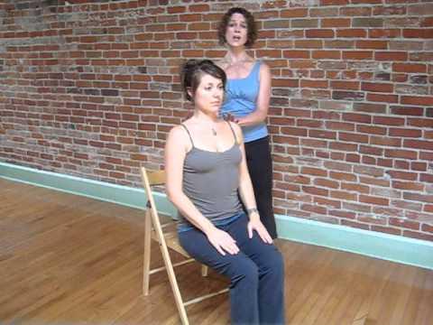 River Cummings: Viniyoga practice for neck & Sholders