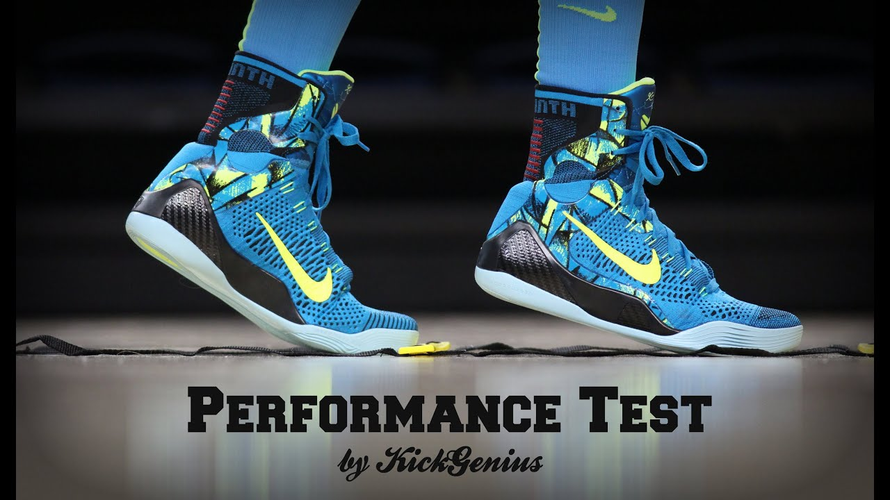 new concept 16332 7150d Nike Kobe 9 Performance Test
