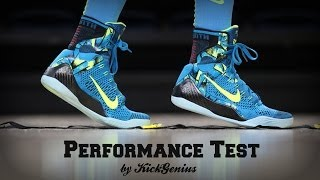 Nike Kobe 9 Performance Test