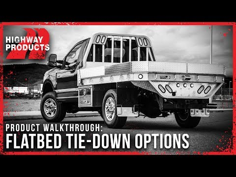 Highway Products | Flatbed Tie-Down Options