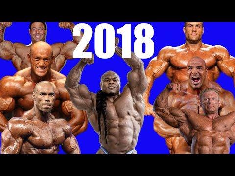 2018: The Year of Bodybuilding Comebacks!