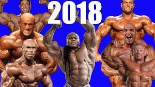 2018: The Year of Bodybuilding Comebacks!