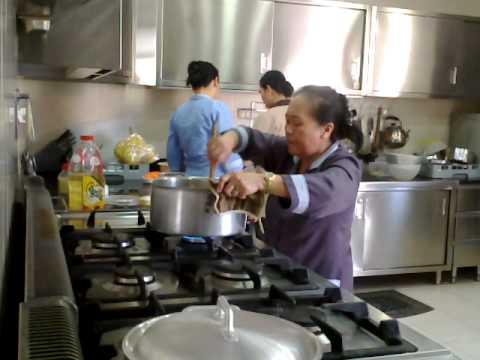 CHRISTMAS DOHA QATAR 2O11 PREPARING FOR FOODS,