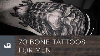70 Bone Tattoos For Men
