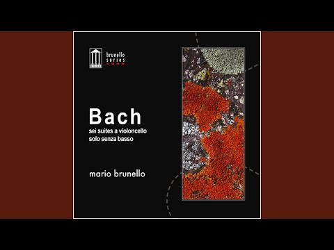 Suite No. 1 in G Major, BWV 1007: I.Prelude