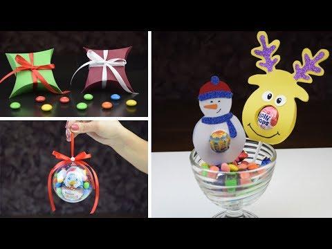 Сладкие  Новогодние DIY идеи подарков🍭Sweet DIY Christmas Crafts