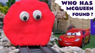 Disney Cars Play Doh Thomas and Friends Guessing Game Thomas Y Sus Amigos Play-Doh McQueen