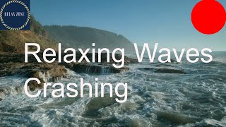 Fantastic Relaxing Ocean Waves  Calming Music with  Relaxing waves crashing