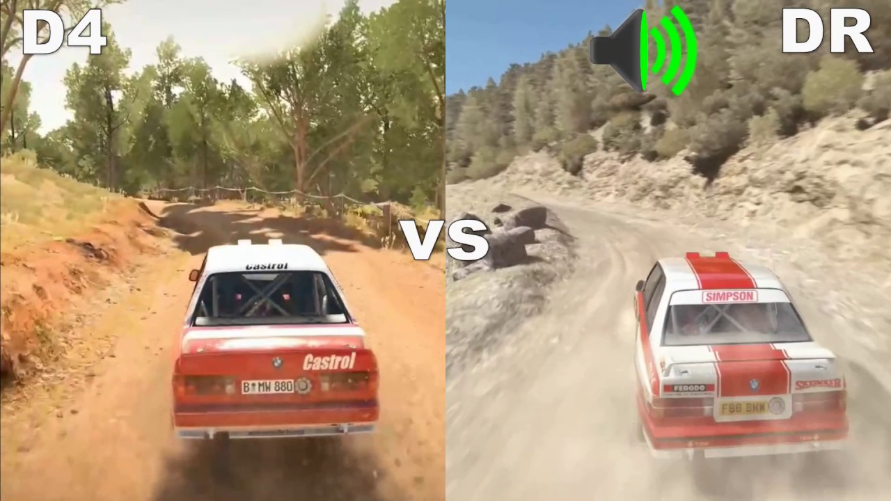 dirt 4 vs dirt rally sound comparison opel bmw youtube. Black Bedroom Furniture Sets. Home Design Ideas