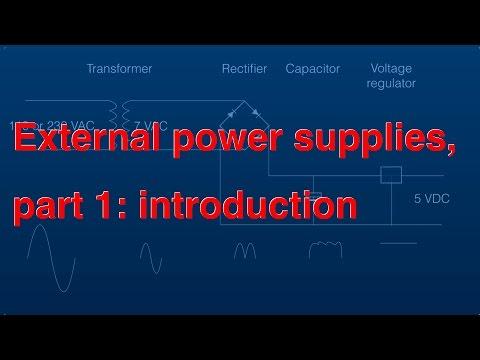 External Power Supplies Part 1 Introduction