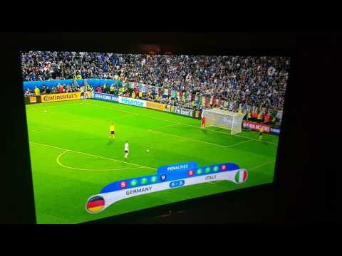 deutschland italien elfmeterschießen