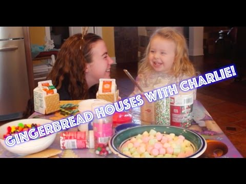 Making Gingerbread Houses with Charlie!