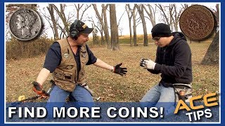 Find More Coins! Garrett ACE Detecting Tips