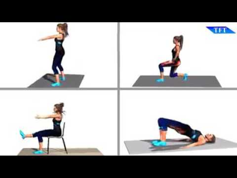 ☇BUTT AND LEGS EXERCISES☇  By TFT - Team Fitness Training