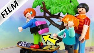 Playmobil Film deutsch | JULIANS MEGA PEINLICHER Skater Schutz | Hannah will kleinen Bruder schützen