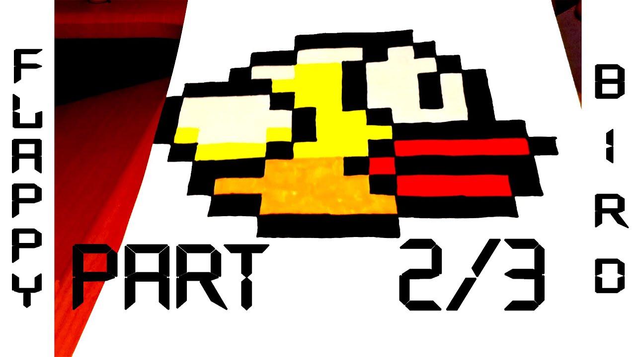 how to draw flappy bird step by step easy
