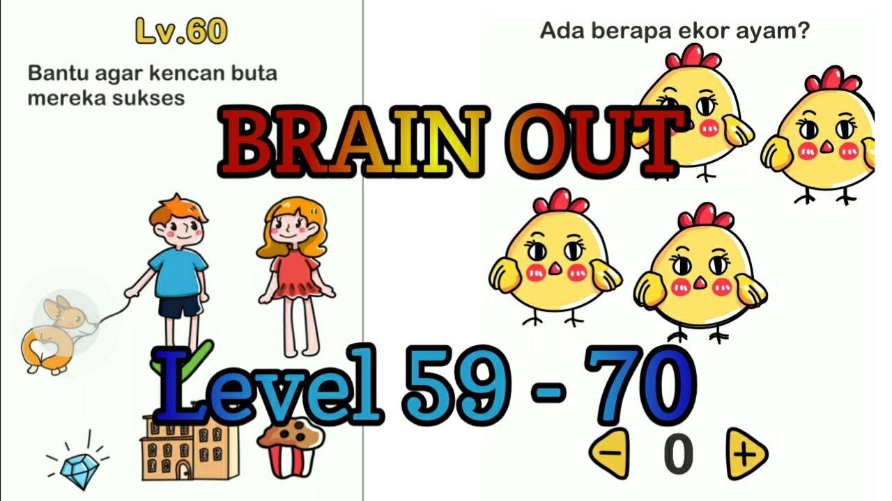 Kunci Jawaban Game Brain Out Level 59 Sampai 70 Youtube