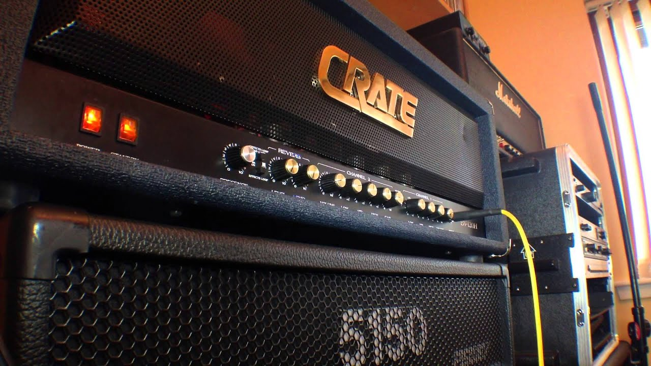 Crate BV120 Head Demo