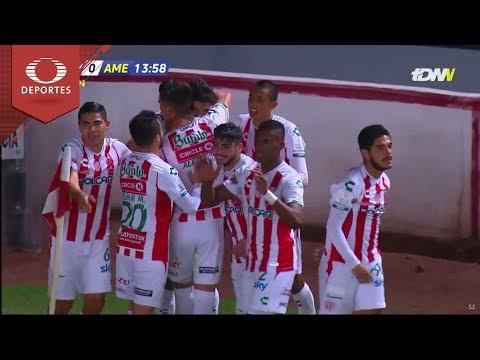 Gol Eduardo Herrera   Necaxa 1 - 0 América   Copa MX - J2 - Cl19   Televisa Deportes